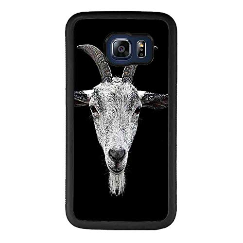Goat Head Case TPU+PC Compatible with Samsung Galaxy S6 Edge Plus 5.7inch