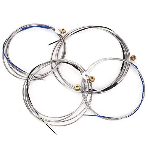 Accesorio de instrumento de música duradero para cambiar todas las cuerdas de un contrabajo.