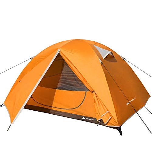 Forceatt 3 Person Camping Tent, Professional Waterproof & Windproof & Pest Proof. Lightweight Backpacking Tent Suitable for Glamping,Hiking, Outdoor, Mountaineering and Travel