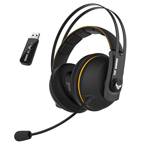 ASUS - Casque Gaming ASUS TUF H7 Wireless - 7.1 virtuel - Jaune