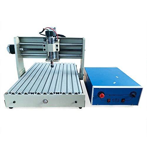 4 Axis CNC Fräsmaschine, 400W 3040T Milling Machine CNC Engraving Machine CNC Graviermaschine für Metall, Glas, Holz, Stein usw.