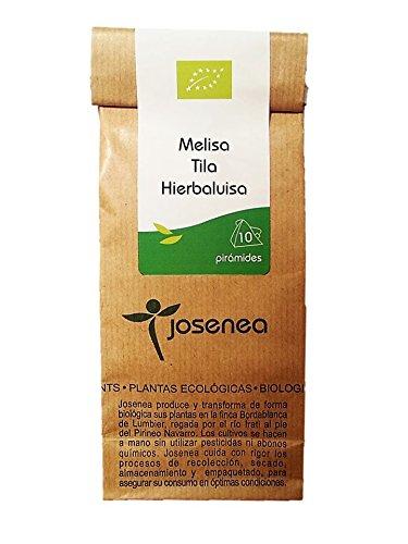 Josenea Melisa-Tila-Hierbaluisa Bio B-10 Piramides - 300 g