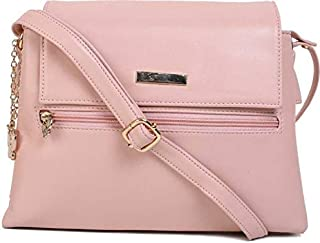 Butterflies Women Sling Bag For Ladies and Girl's (Peach) (BNS 0719PCH)