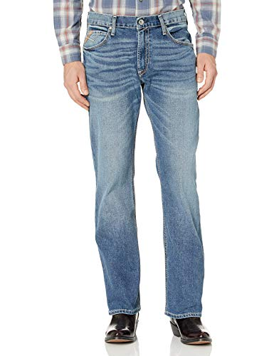ARIAT M4 - Pantalones vaqueros para hombre - Azul - 42W x 34L