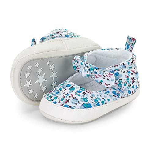 Sterntaler Mädchen Baby-Schuh Stiefel, Blau (Samtblau 399), 19/20 EU