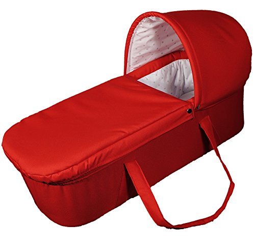 EICHHORN Feste Tragetasche für Kinderwagen Rot