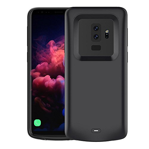 Samsung Galaxy S9 Plus Funda Batería,STRIR 5200mAh Recargable Externo Portátil Cargador de batería Power Bank Backup Funda de batería Extra integrada Estuche Protector para Samsung Galaxy S9 Plus
