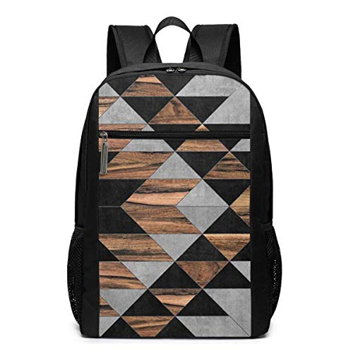 Lsjuee Urban Tribal Pattern Backpack Unisex School Daily Backpack Lightweight Casual Travel Outdoor Camping Daypack
