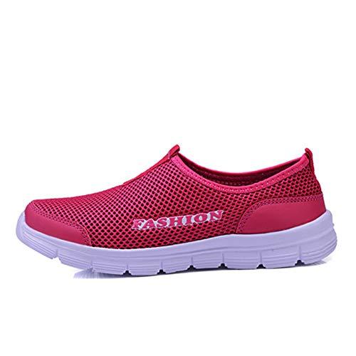 Zapatos Deportivos para Mujer, Mocasines Planos Antideslizantes, Zapatos Casuales cómodos de Verano, Zapatillas Ligeras para Caminar Diariamente al Aire Libre
