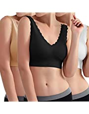Libella 3747 Sportbeha voor dames, zonder beugels, comfortabele beha, slaapbeha, vrijetijds- en sportbeha, naadloos