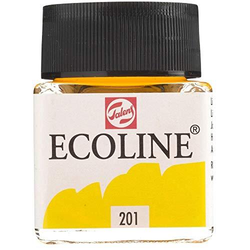 Ecoline - Fluessige Wasserfarbe - 30 ml - Hellgelb