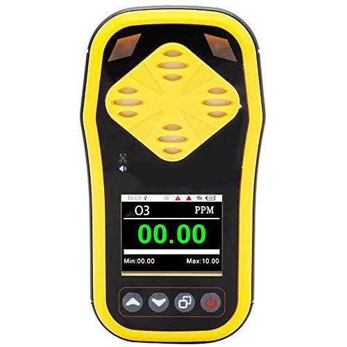 SMBYQ Ozonkonzentration Detektor Ozon Meter - 0,01 ppm Handportable O3 Gas-Tester mit LCD-Display Digital Ozongasmonitor Metern