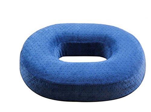 ZZY Memory Foam Orthopädische Donut Sitzkissen, Reduziert Ischias Relief, Steißbein, Steißbein und Hüfte Schmerzen Post Natal, Chirurgie, Druckstellen