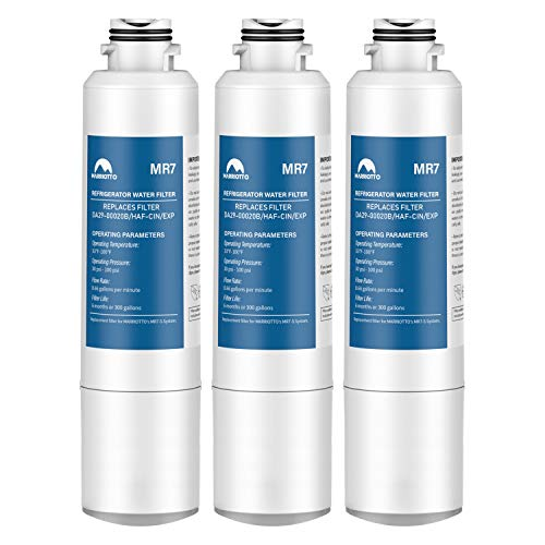 MARRIOTTO DA29-00020B Refrigerator Water Filter, Compatible with DA29-00020B, DA29-00020A, HAF-CIN/EXP, 46-9101 Refrigerator Water Filter, 3 Pack