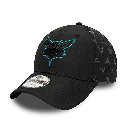 New Era Charlotte Hornets 9forty Adjustable Cap NBA Nylon Black - One-Size