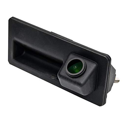 HD 1280x720p Rückfahrkamera für A4/A5/A6/Q3/Q5 Passat B6 B7/Tiguan/Golf/Touran/Jetta/Sharan/Touareg Cayenne Golf Plus,Farbkamera Einparkkamera Nachtsicht Rückfahrsystem Einparkhilfe Wasserdicht