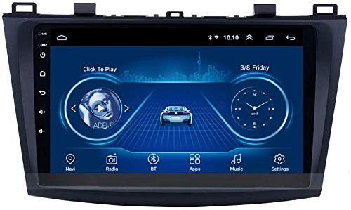 Für Mazda 3 2006-2012 9 Zoll Android 8.1 Auto Media Player GPS Navigation Mit WiFi Bluetooth Radio, Lenkradsteuerung