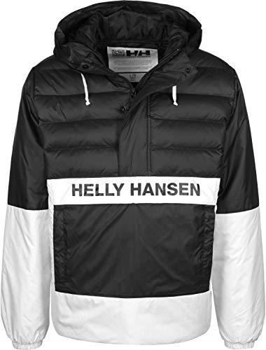 Helly Hansen Herren P&C Quilted Anorak Pullover, Black, L