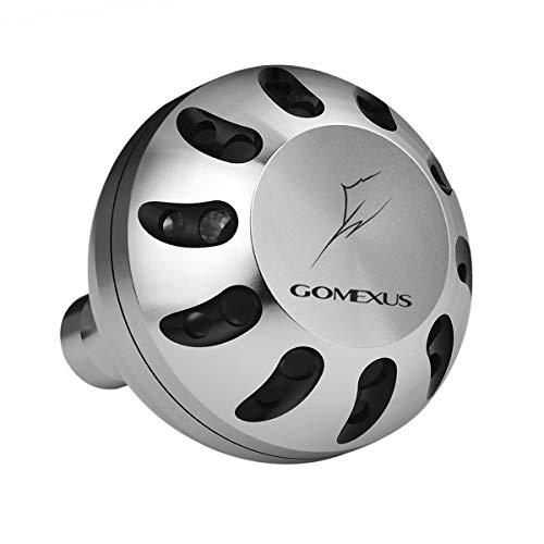 Gomexus Pomo Carrete para Shimano Saragosa SW 5000-25000 Stradic FK 5000 Ultegra XSD 5500 14000 Perilla Carretes de Pesca Spinning Directo 45mm Metal