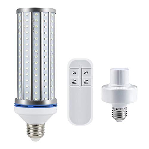 Tragbare Keimt/ötende UV Lampen Sterilisator Gl/ühbirne 220V E27 UV Desinfektions Keimt/ötungslampe Bakterien//Milben//Staub entfernen Haushalts Keimt/ötungslampe zur Raumdesinfektion
