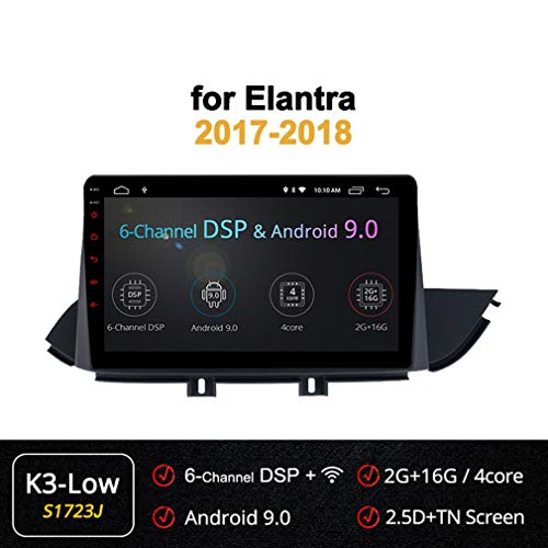 Buy Bargain XBRMMM 10.1 Inch 8 Core Android Head Unit GPS Car Radio for Hyundai Elantra 2017-2018 wi...