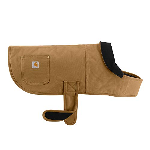 Carhartt Chore Coat, Dog Vest, Water Repellent Cotton Duck Canvas, Carhartt Brown, X-Large