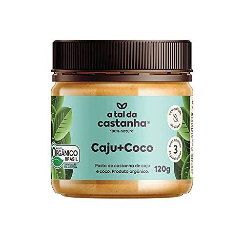 Pasta de Castanha Orgânica A Tal da Castanha Caju+Coco 120g