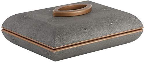 Multifunctional Caja de joyería pendiente anillo de joyería pantalla caja de almacenamiento caja organizador franela bandeja titular caja de almacenamiento de regalo, 32x22x12cm caja de almacenamiento