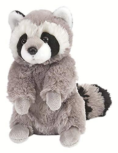 Wild Republic 10875 Peluche Raton Laveur, Cuddlekins Mini doudouier, Cadeaux pour Enfants, 20 cm, 10875, Multicolore