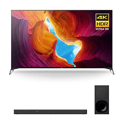 Sony X950H 65-Inch Full Array LED 4K Ultra HD HDR Android Smart TV with Soundbar