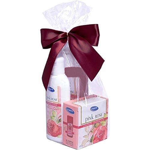 Kappus Geschenkset Pink Rose 3-teilig verpackt
