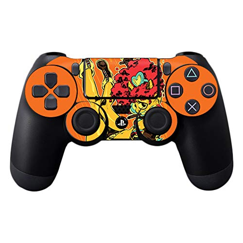 MightySkins Skin Compatible with Sony PS4 Controller - Cyclops Girl   Protective, Durable, and Unique Vinyl Decal wrap Cover   Easy to Apply, Remove, and Change Styles   Made in The USA