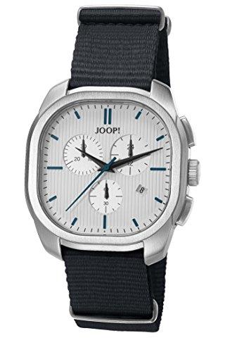Joop! Herren Chronograph Quarz Uhr mit Textil Armband JP101811003