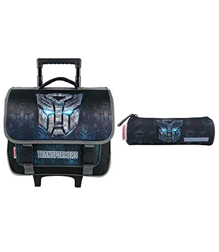 Bagtrotter Cartable A roulettes Transformers 38cm,...