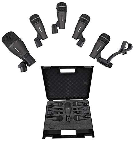 Samson DK705 5-delige drum microfoon kit W/hoesje
