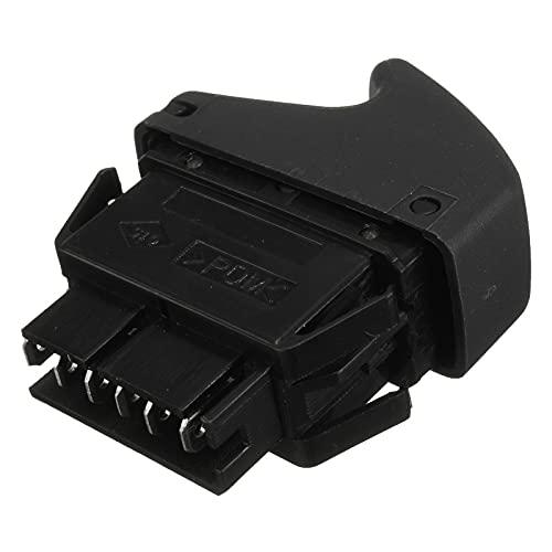 GLLXPZ Interruptor de La Botonera Elevalunas, para Renault Clio II Megane I Kangoo, Electrónico Panel Interruptor de Botón