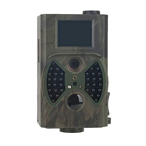 Wildkamera Jagd HC300M Jagd-Hinterkamera HC300M Full HD 12MP 1080P Video Night Vision MMS GPRS Scouting Hunter Kamera (Color : Light Green)