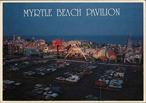 Myrtle Beach Pavilion Myrtle Beach, South Carolina SC Original Vintage Postcard