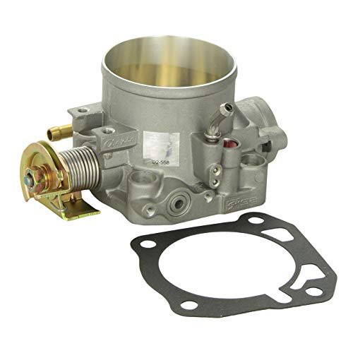 Skunk2 309-05-1050 Alpha Series Silver 70mm Throttle Body for Honda B, D, H, F-Series Engines