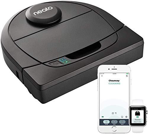 Neato Robotics D4 Smart Roboter-Staubsauger - Alexa-kompatibel - Roboter-Staubsauger mit Ladestation, WLAN und App