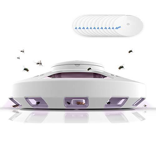 Insektenvernichter Lampe,Mückenlampe, LED, Elektrische Fliegenfalle, Elektrischer Insektenvernichter, Insektenvernichter, Keine Strahlung ungiftig, Keine Chemikalien, USB, für Indoor Outdoor,Büro