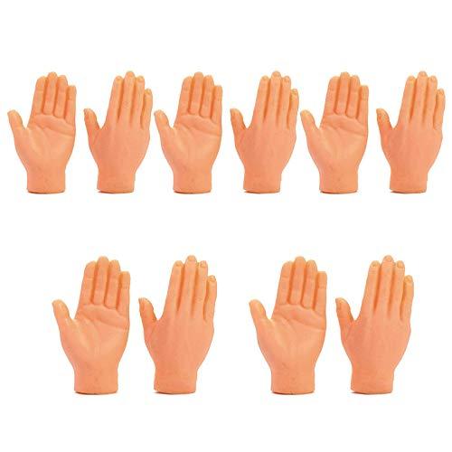 LGYKUMEG 10 unids/Set Dinfo Dedo Muecas Muecas Muecas Mini Pupones de Goma para Nios Familia Original Juguetes para Celebracin Familia Disfraz,Color