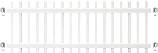 Best spaced picket vinyl fence Reviews
