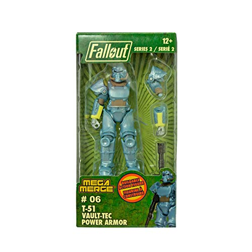 Just Toys LLC Fallout Mega Merge Figures (Series 2 T-51 Vault Tec)