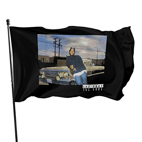 ANAHSASD 3x5 Foot Flag Ice Cube Impala Flag Vivid Color and UV Fade Resistant with Brass Grommets 3 X 5 Feet 3x5'' Flag