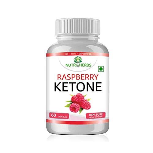 Nutriherbs Raspberry Ketone with Garcinia Cambogia & Green Tea 800mg 60 capsules (1)
