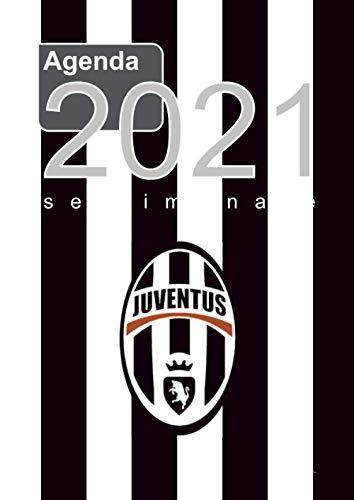 Agenda settimanale 2021 Juventus: settimanale formato A4