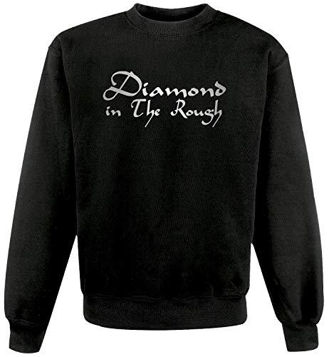 Pull unisexe Black Diamond in The Rugh Street Rat Genie Al - Noir - XXL