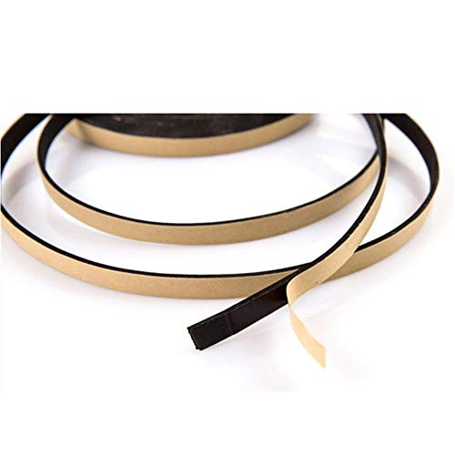 Chenweiwei Lcuiling- Seal Strip 2M Black Waterproof Sealing Strips Kitchen Gas Stove Gap Window Sealing Tape Dust Proof Sink Stove Crack Strip, Widely Used (Color : Black)