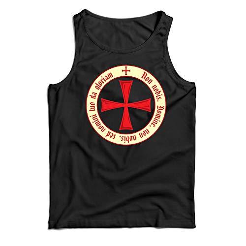 lepni.me Camisetas de Tirantes para Hombre El Código de los Templario
